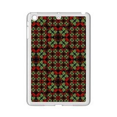 Asian Ornate Patchwork Pattern Ipad Mini 2 Enamel Coated Cases by dflcprints