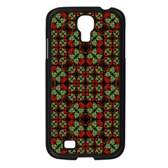 Asian Ornate Patchwork Pattern Samsung Galaxy S4 I9500/ I9505 Case (black) by dflcprints