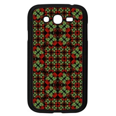 Asian Ornate Patchwork Pattern Samsung Galaxy Grand Duos I9082 Case (black) by dflcprints