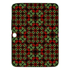 Asian Ornate Patchwork Pattern Samsung Galaxy Tab 3 (10.1 ) P5200 Hardshell Case  by dflcprints