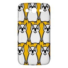 Yellow Owl Background Samsung Galaxy Mega 5 8 I9152 Hardshell Case  by Simbadda