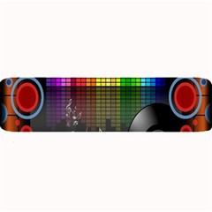 Music Pattern Large Bar Mats by Simbadda