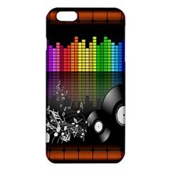 Music Pattern Iphone 6 Plus/6s Plus Tpu Case by Simbadda