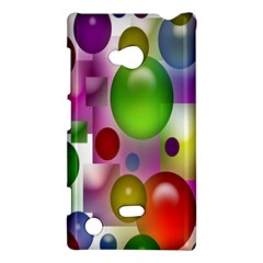 Colorful Bubbles Squares Background Nokia Lumia 720 by Simbadda