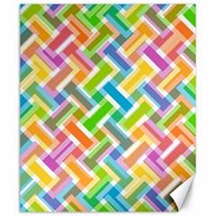 Abstract Pattern Colorful Wallpaper Canvas 20  X 24   by Simbadda