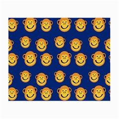 Monkeys Seamless Pattern Small Glasses Cloth by Simbadda