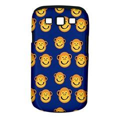 Monkeys Seamless Pattern Samsung Galaxy S Iii Classic Hardshell Case (pc+silicone) by Simbadda