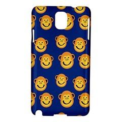Monkeys Seamless Pattern Samsung Galaxy Note 3 N9005 Hardshell Case by Simbadda