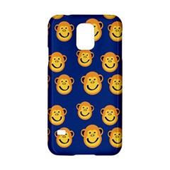 Monkeys Seamless Pattern Samsung Galaxy S5 Hardshell Case  by Simbadda