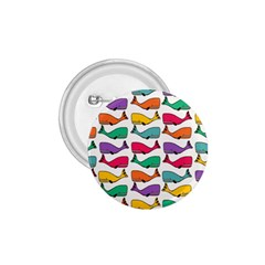 Small Rainbow Whales 1 75  Buttons by Simbadda