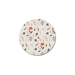 Seamless Floral Patterns  Golf Ball Marker (10 Pack) by TastefulDesigns