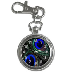 Peacock Feather Key Chain Watches by Simbadda
