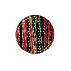Alien Animal Skin Pattern Hat Clip Ball Marker (4 Pack) by Simbadda