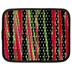 Alien Animal Skin Pattern Netbook Case (xl)  by Simbadda