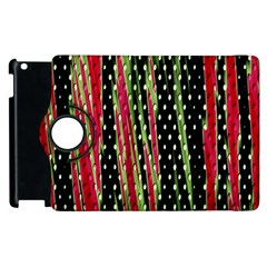 Alien Animal Skin Pattern Apple Ipad 3/4 Flip 360 Case by Simbadda