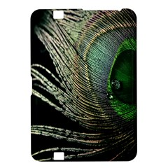 Feather Peacock Drops Green Kindle Fire Hd 8 9  by Simbadda