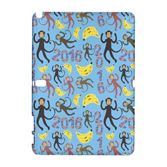 Cute Monkeys Seamless Pattern Galaxy Note 1 by Simbadda