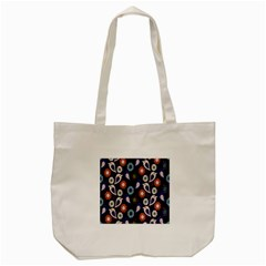 Cute Birds Pattern Tote Bag (cream) by Simbadda