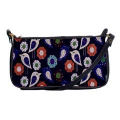 Cute Birds Pattern Shoulder Clutch Bags by Simbadda