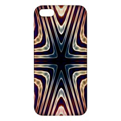 Colorful Seamless Vibrant Pattern Apple Iphone 5 Premium Hardshell Case by Simbadda