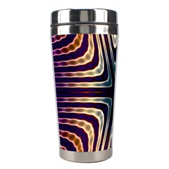 Colorful Seamless Vibrant Pattern Stainless Steel Travel Tumblers by Simbadda