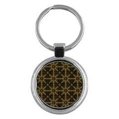 Seamless Symmetry Pattern Key Chains (round)  by Simbadda