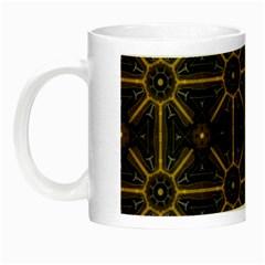 Seamless Symmetry Pattern Night Luminous Mugs by Simbadda