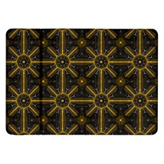 Seamless Symmetry Pattern Samsung Galaxy Tab 8 9  P7300 Flip Case by Simbadda
