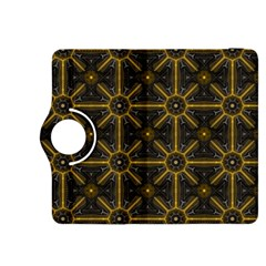 Seamless Symmetry Pattern Kindle Fire Hdx 8 9  Flip 360 Case by Simbadda