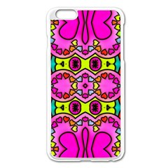 Love Hearths Colourful Abstract Background Design Apple Iphone 6 Plus/6s Plus Enamel White Case by Simbadda