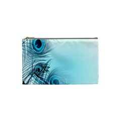 Feathery Background Cosmetic Bag (small)