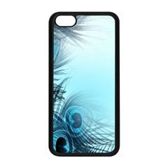 Feathery Background Apple Iphone 5c Seamless Case (black) by Simbadda