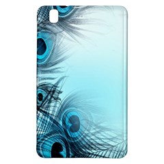 Feathery Background Samsung Galaxy Tab Pro 8 4 Hardshell Case by Simbadda