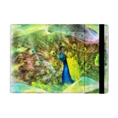 Peacock Digital Painting Ipad Mini 2 Flip Cases by Simbadda