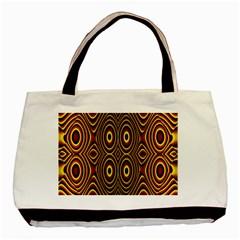 Vibrant Pattern Basic Tote Bag (two Sides) by Simbadda