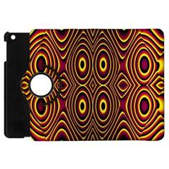 Vibrant Pattern Apple Ipad Mini Flip 360 Case by Simbadda
