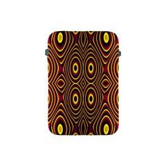 Vibrant Pattern Apple Ipad Mini Protective Soft Cases by Simbadda