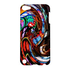 Abstract Chinese Inspired Background Apple Ipod Touch 5 Hardshell Case by Simbadda