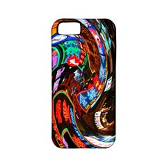 Abstract Chinese Inspired Background Apple Iphone 5 Classic Hardshell Case (pc+silicone) by Simbadda