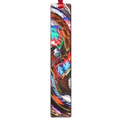 Abstract Chinese Inspired Background Large Book Marks by Simbadda
