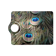 Colorful Peacock Feathers Background Kindle Fire Hd (2013) Flip 360 Case by Simbadda