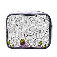 Abstract Pattern Mini Toiletries Bags