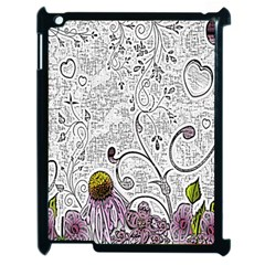 Abstract Pattern Apple iPad 2 Case (Black)