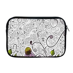 Abstract Pattern Apple Macbook Pro 17  Zipper Case by Simbadda