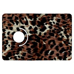 Background Fabric Animal Motifs Kindle Fire Hdx Flip 360 Case by Simbadda