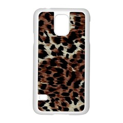 Background Fabric Animal Motifs Samsung Galaxy S5 Case (white) by Simbadda