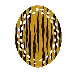 Seamless Fur Pattern Ornament (Oval Filigree) by Simbadda