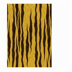 Seamless Fur Pattern Large Garden Flag (two Sides) by Simbadda