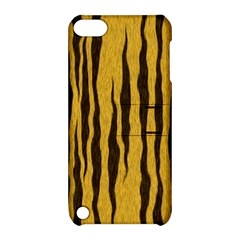 Seamless Fur Pattern Apple Ipod Touch 5 Hardshell Case With Stand by Simbadda