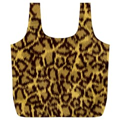 Seamless Animal Fur Pattern Full Print Recycle Bags (l)  by Simbadda